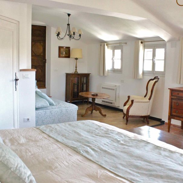 Chambre d'hôtes La Demeure avec coin salon