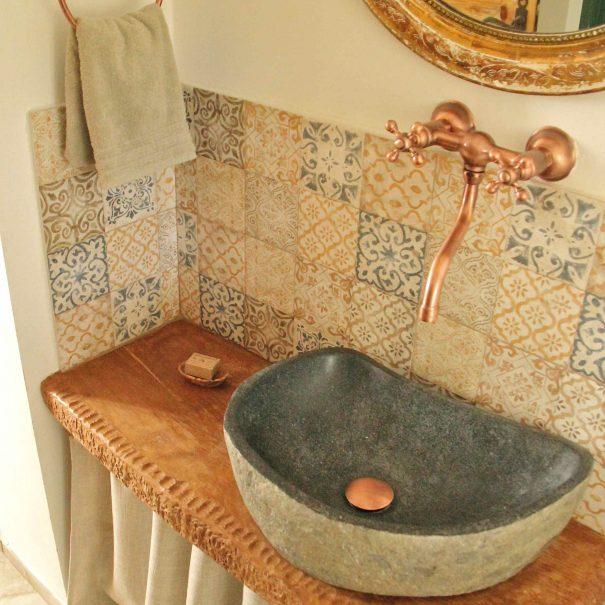 Chambre d'hôtes Le Chai - petite salle de bain