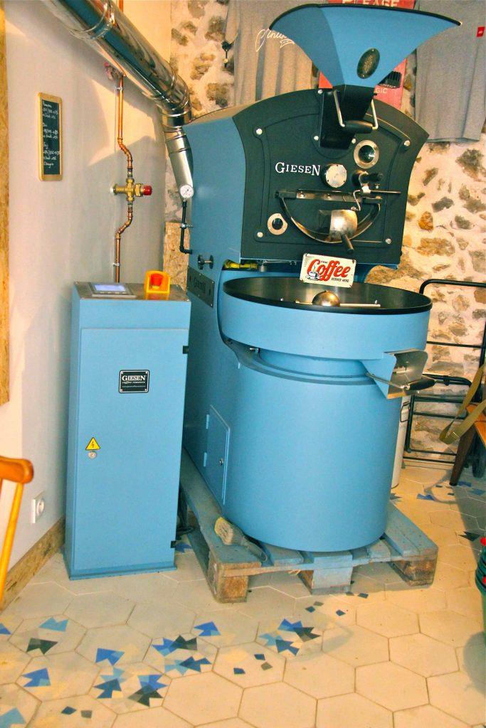 La machine à torréfier le café