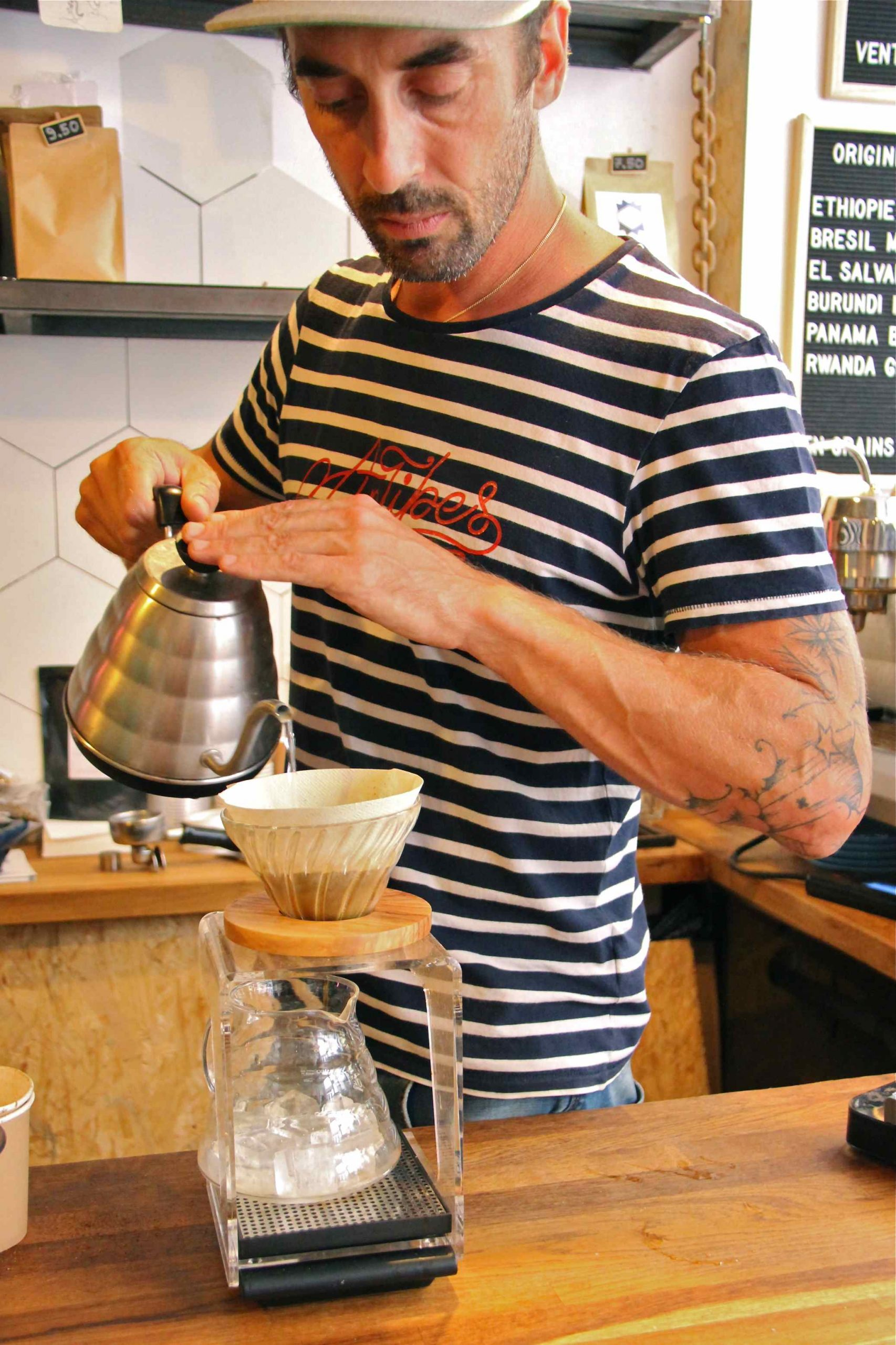 Café méthode douce