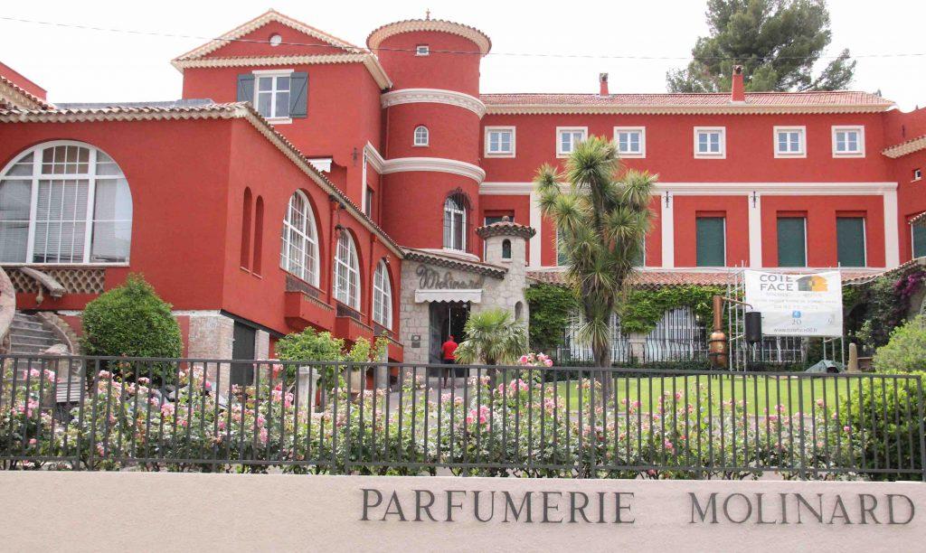 parfumerie Molinard, bastide historique