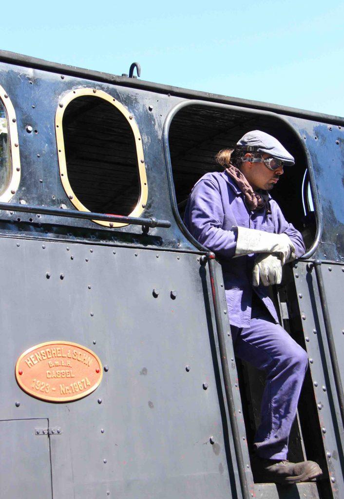 Chauffeur locomotive