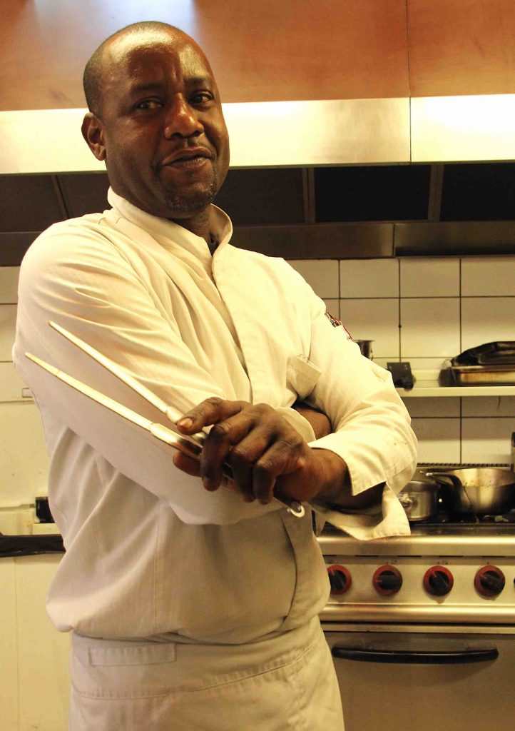 Le chef du restaurant L'éveil des Sens à Pégomas, Joël Metony