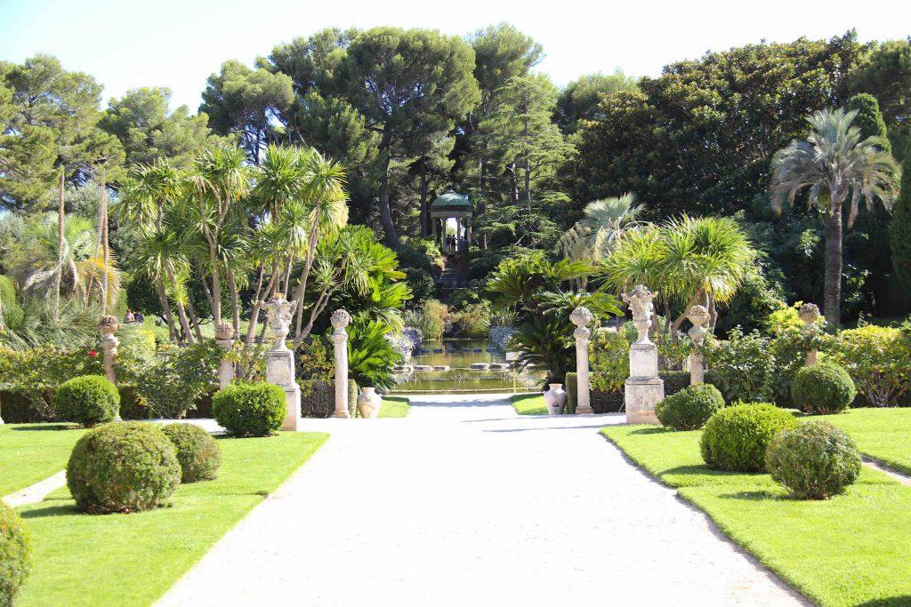 jardin à la française et promontoire