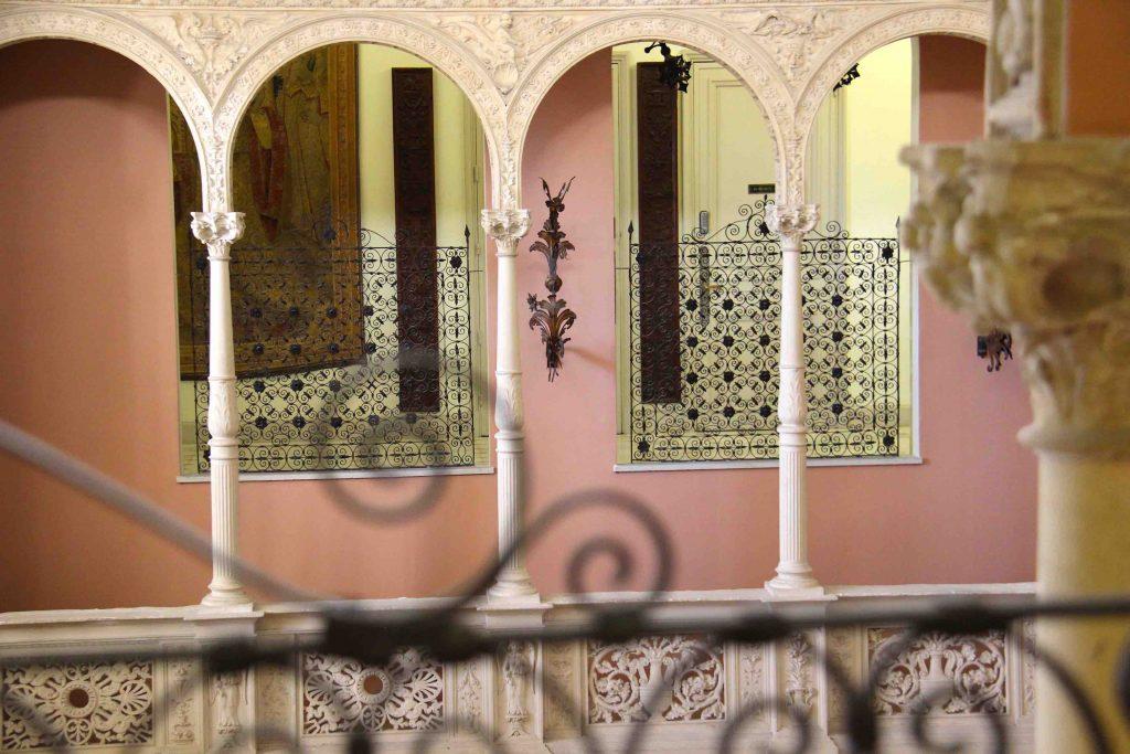 le patio de la Villa Ephrussi de Rothschild